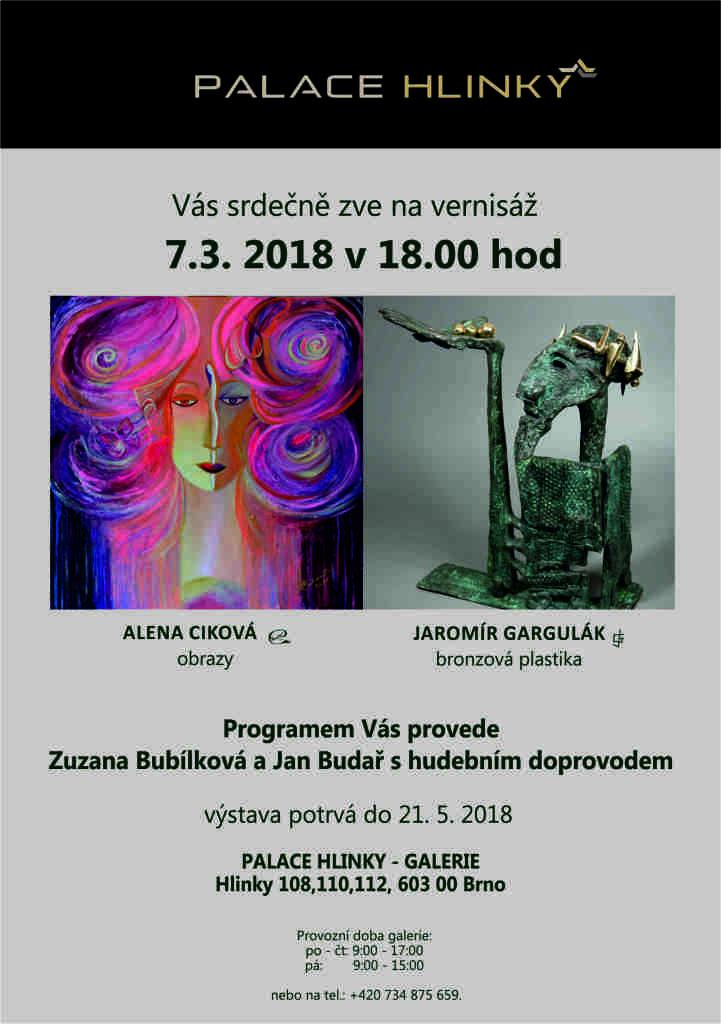 pozvánka Hlinky Ciková, Gargulák